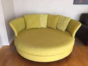 Circle sofa 360 view of comfort - Stylish - yellow Lilydale Yarra Ranges Preview