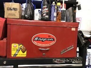 Vintage mac tools tool box top