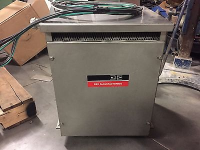 Rex Bc9hmx Stainless Steel Encapsulated Transformer - 9 Kva