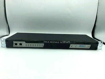 Verint S1816e 16-channel Cctv Video Encoder.