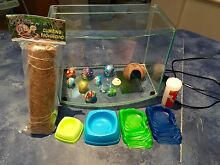 Hermit Crazy Crab Set Up - Tank Heater Accessories Exc Cond Atwell Cockburn Area Preview
