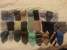 30 Mens Ties - Assorted ties - Silk & Polyster mixed - Offical Hughesdale Monash Area Preview