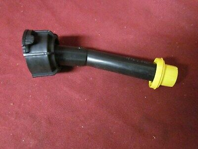 One Blitz Gas Can Spout W New Yellow Cap Fit 1.4 2.5 5 And 6 Gallon Cans