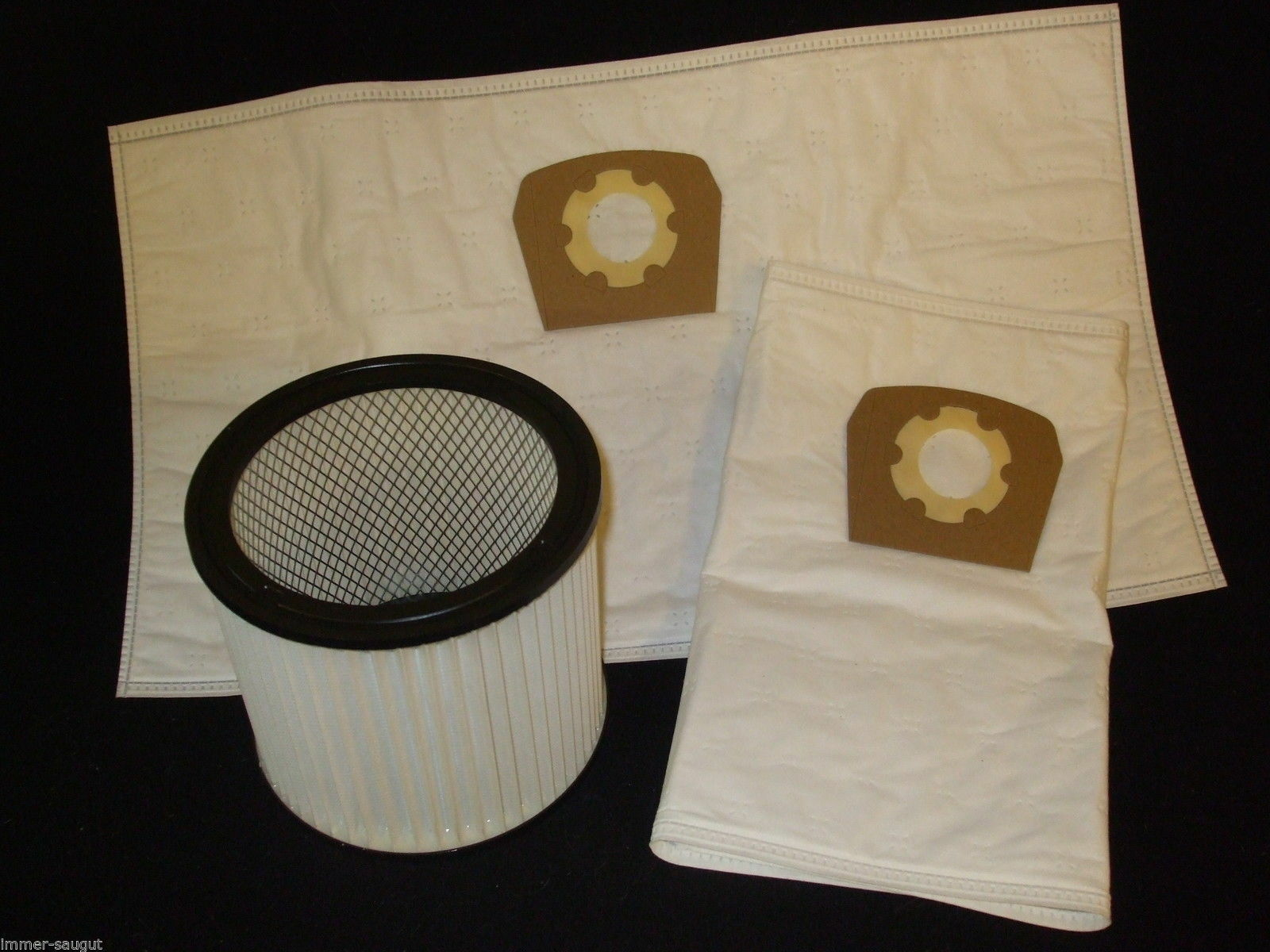 2 waschbare Filter für Parkside PNTS 1400 F2 Faltenfilter auswaschbar 1400F2