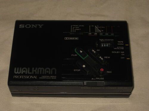 Sony WM-D3 Walkman Professional Stereo Cassette Recorder AS-IS for Parts/Repair