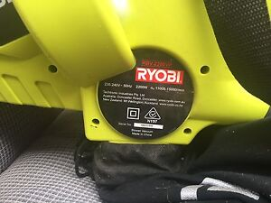 Ryobi RBV 2200VP Garden Vacuum Electric Greenvale Hume Area Preview