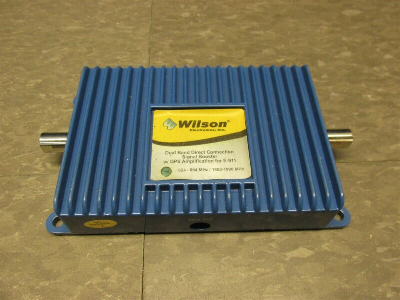 Wilson 811200 Direct-Connect 800/1900 MHz In-Line Amplifier 2B1401