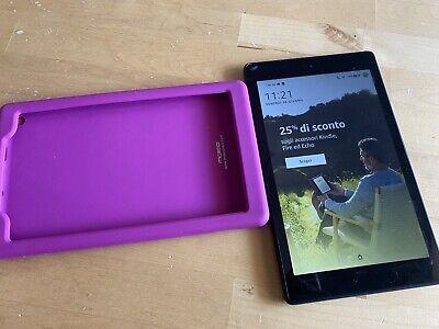 Tablet Fire HD 8 Wi-Fi 16 GB con Custodia Originale (Nero)