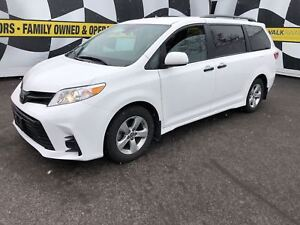 2018 Toyota Sienna 3rd Row Seating, Back Up Camera, Bluetooth,