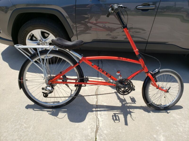 Rans Fusion Crank Forward Bicycle used recumbent style