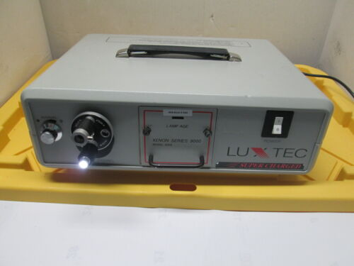 Luxtec Xenon 9000 Model 9300 Light Source Super Charged Endoscopy storz olympus