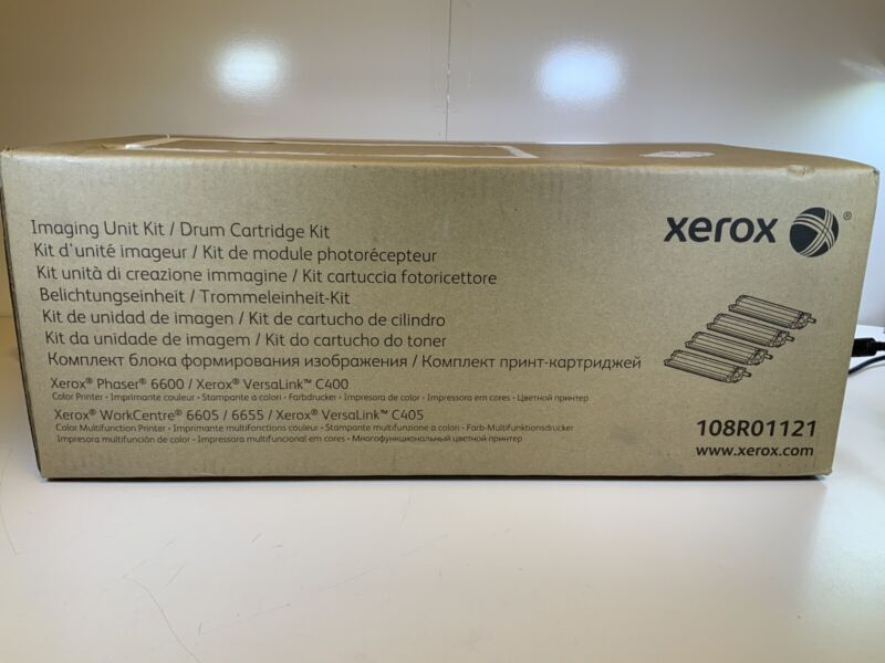 New Genuine Xerox Imaging Drum Cartridge Kit 108R01121