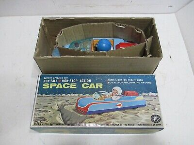 SPACE CAR BATTERY OP MINT IN BOX MADE IN JAPAN   SCARCE for sale  Shipping to India