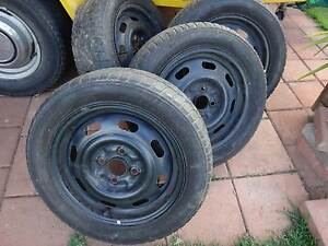 "Mazda 121 steel rims. 14"" x 5 1/2"" Woodville South Charles Sturt Area Preview"