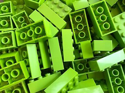 LEGO- BRAND NEW- #3001-2 x 4 -LIME GREEN-22 BRICKS
