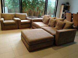 Fabric sofa for sale Brighton Bayside Area Preview