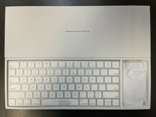 NEW Apple A1644 Magic Keyboard 2 and A1657 Magic Mouse 2 Wireless Kit - White