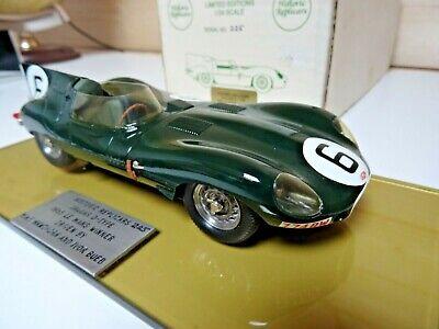 Historic Replicars Jaguar D-Type 1955 Le Mans Winner 1/24 factory built