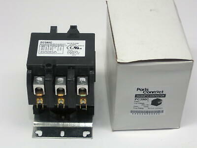 Contactor Three 3 Pole 90 Amp 240 Volts Air Conditioning Pc390c