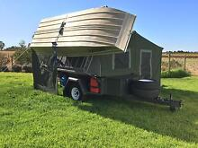 Camper trailer, boat, motor, trailer ultimate package ready to go Irymple Mildura City Preview