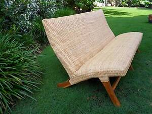 Cane Rattan Sofa Bayview Pittwater Area Preview