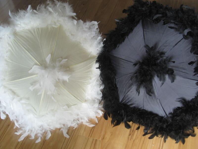 Wedding Umbrellas Second Line New Orleans Authentic Cream Parasols Mardi Gras