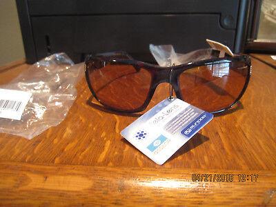 NWT--SunDog Sunglasses--Delta #21032--Tortoise Shell--Smokey Brown Mela (Sun Dog Sunglasses)