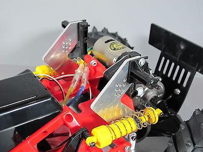Aluminum Rear Shock Suspension Mount 1/10 RC Tamiya Mud Blackfoot Monster -