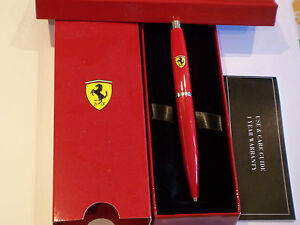 Sheaffer Ferrari Rosso Corsa Ballpoint Pen Gift Boxed Official Licensed Product