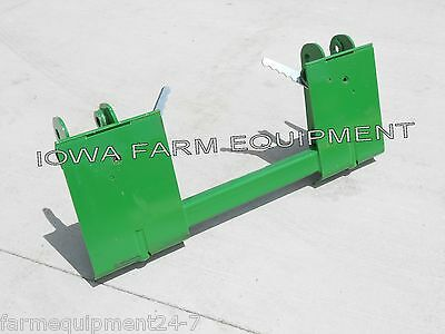 John Deere 145146148 158 Pin-on Loader To Skid Steer Quick Attach Adapter