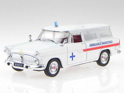 Editions atlas Cadillac Miller Meteor Ambulance ambulancia 1:43