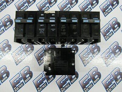 Bryant Br250 Lot Of 5 2 Pole 50 Amp 240 Volt Plug In Circuit Breaker- Warranty