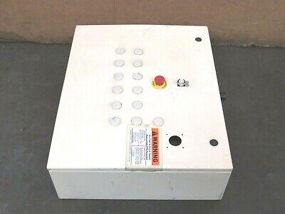 Wiegmann Hinged Electrical Enclosure Panel Box N412302408c 30x24x8 - Used