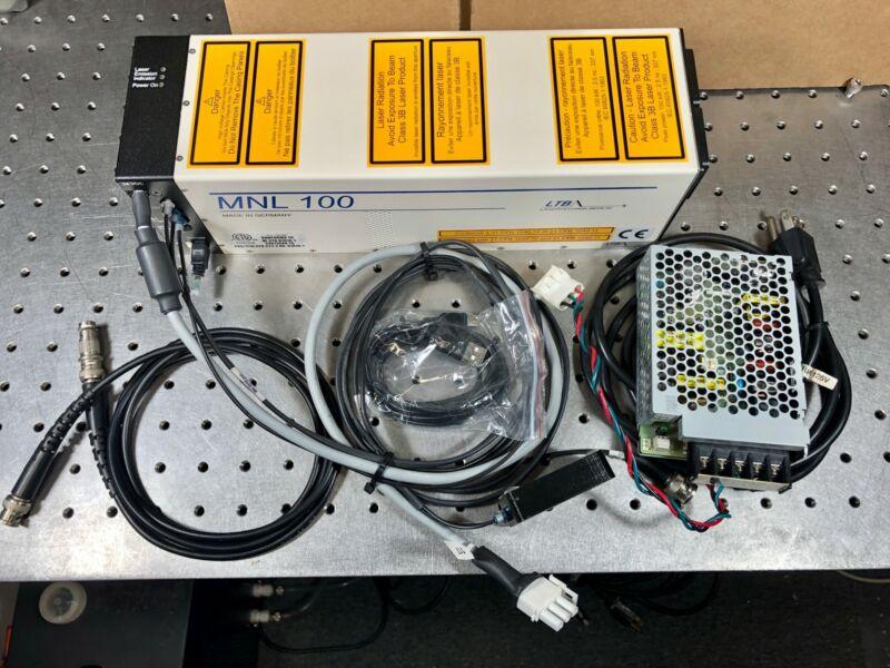 LTB MNL 100 337nm Nitrogen Laser Free Space w/ USB Interface, PSU, Tested