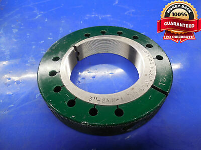 3 24 N 3 Thread Ring Gage 3.0 Go Only P.d. 2.9729 N-2 N-3 Inspection 3.00