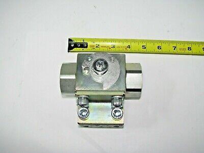 Steel Hydraulic Block Ball Valve 78 Id Flare Female - Pressure Rating Unknown.