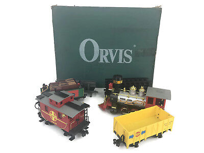 Orvis The Classic Rail Battery Operated G-Scale Train Set Christmas Tree Decor
