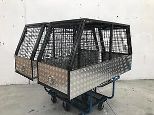New 2017 Model Storage ute dog cage steel from and Aluminium plated Smeaton Grange Camden Area Preview