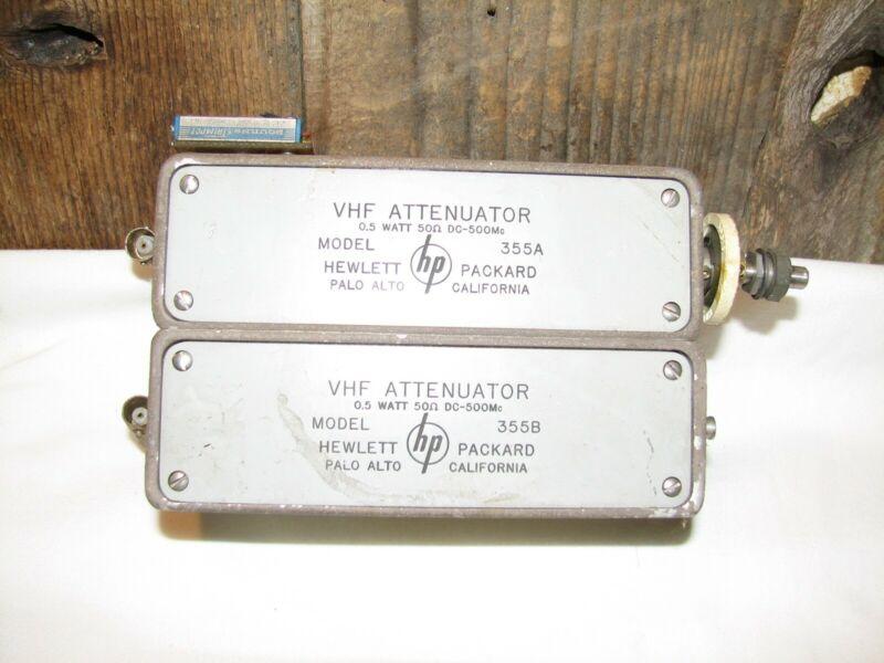 HP 355A & 355B VHF Attenuator Used