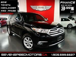 2012 Toyota Highlander V6 AWD 7-PASS|CERTIFIED|1YR FREE WARRANTY