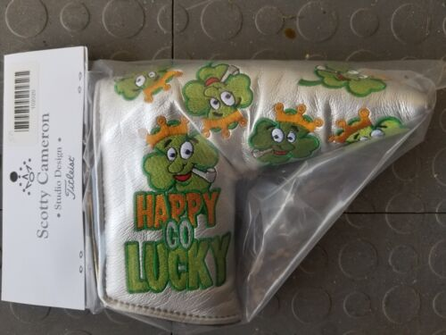 Scotty Cameron Putter Cover Happy Go Lucky - 2019