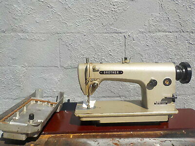 Industrial Sewing Machine Brother 715-reverselight Leather