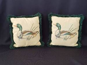 Mallard Duck Tapestry Cushions Richmond Hawkesbury Area Preview