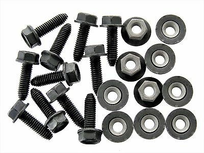 Lincoln Body Bolts & Barbed Nuts- M6-1.0mm x 20mm Long- 10mm Hex- Qty.20- #126