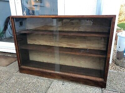 Mid Century / Late Art deco Glazed bookcase