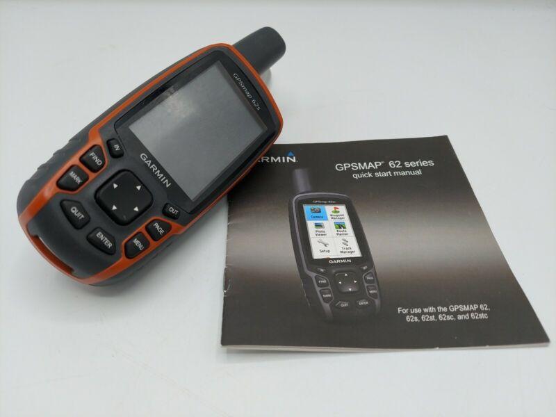 Garmin GPSmap 62s Handheld Color GPS Receiver, Hiking & Outdoors