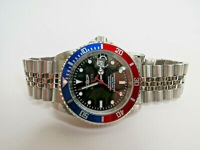 Invicta Men's Automatic Watch Pro Diver 42mm Black Red Blue 29176