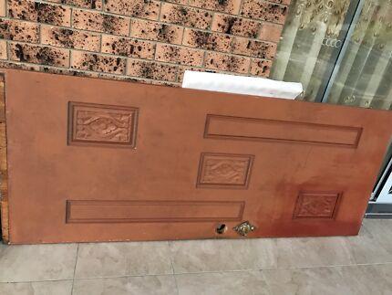 Solid Hardwood Timber Entry Door