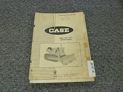 Case 310e Utility Crawler Tractor Dozer Parts Catalog Manual Manual B687