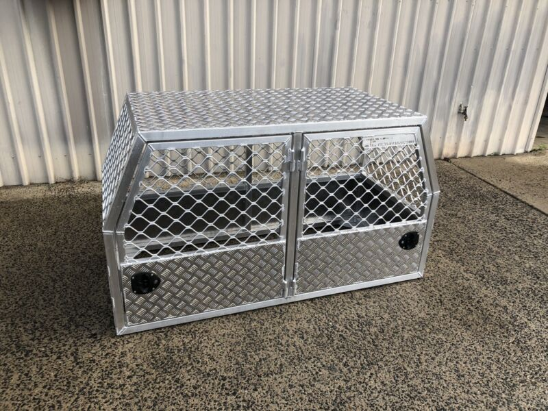 New Aluminium Dog Crate Suit Landcruiser Other Parts